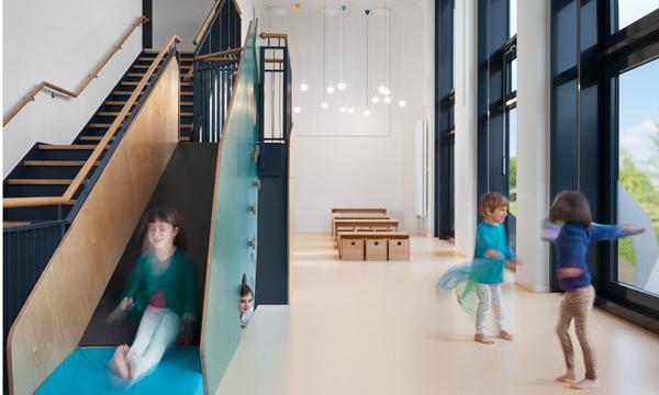 pme kita hafencity baukind architekten. Black Bedroom Furniture Sets. Home Design Ideas
