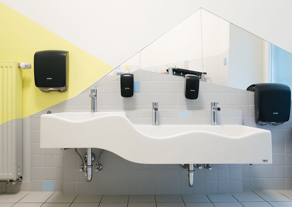 Bezaubernd Bad Waschbecken Foto Von Baukind-kita-edgar-bad-waschbecken