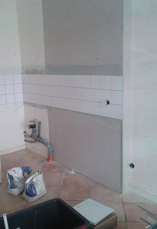 baukind Kita Spreesprotten Baustelle Badezimmer