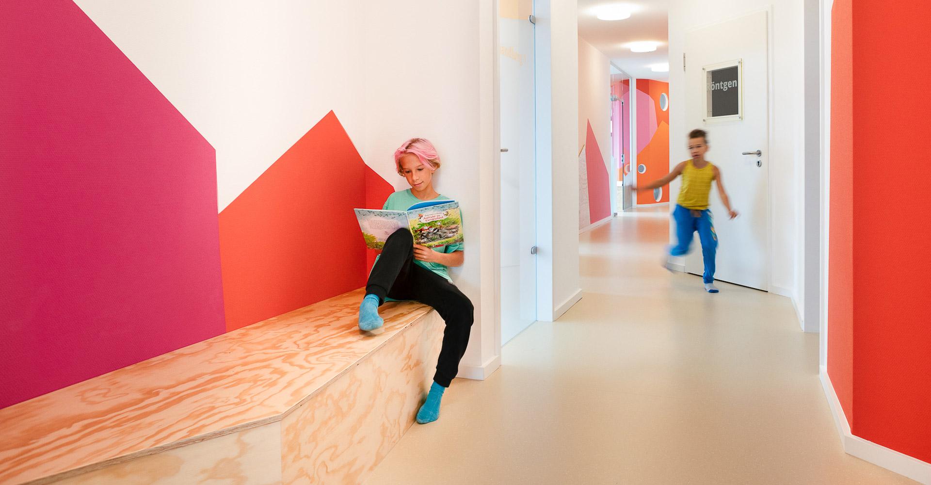 baukind Kinderzahnarztpraxis Kinderlieb Flurbereich