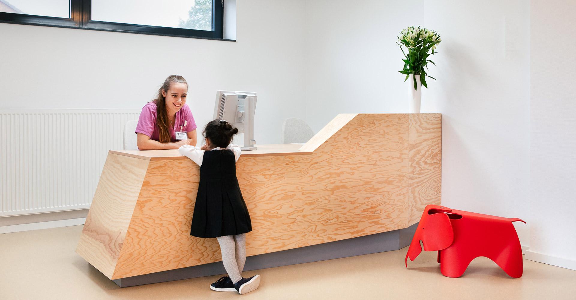 baukind Kinderzahnarztpraxis Kinderlieb Kinderrezeption